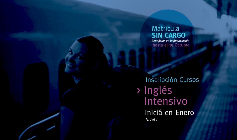 Inglés Intensivo - ¡Empezá en enero!