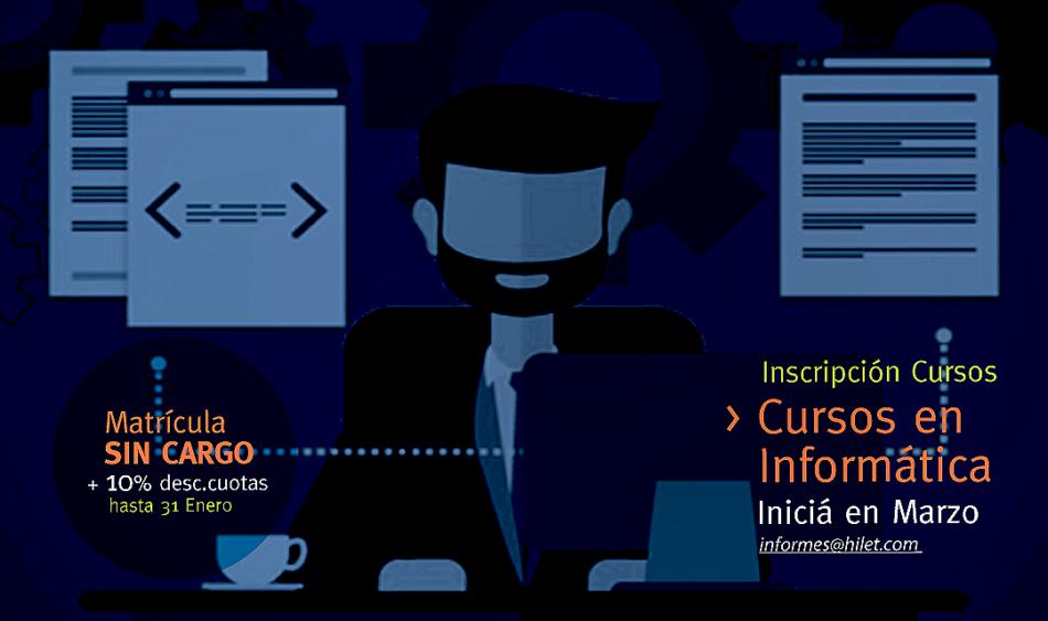 Informática Inscripción Marzo 2017